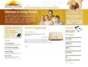 Living Stones Community Church  Web Design